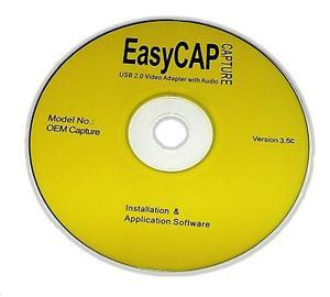 Cd Driver De Instalación Y Software Para Easycap