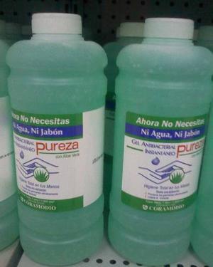 Gel Antibacterial 1lt, Pureza Y Otros