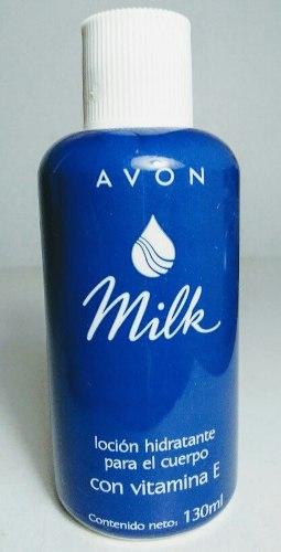 Loción Hidratante Avon Milk Para Cuerpo. Vitamina E. 130 Ml
