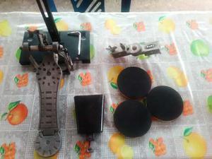 Multi Clamp Mapex, Campana De Pie Con Base Y Pedal Y 3 Pads