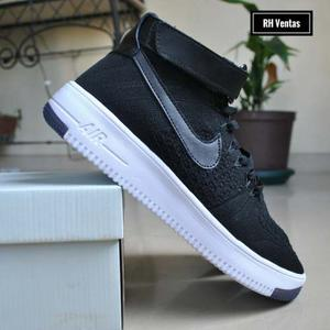 Nike Air Force One Corte Alto Negro