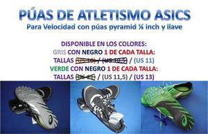 Zapatos De Atletismo Nuevos Con Llave Y Púas