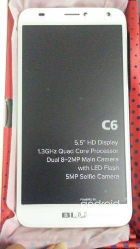 Telefono Celular Android 8.1 Blu C6 Nuevos