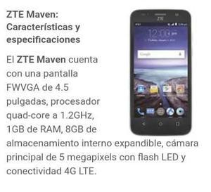 Zte Maven Z812 1gb Ram 8gb Memoria Interna 4.5