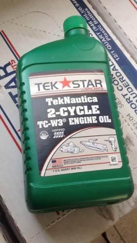 Aceite Para Motores Fuera De Borda De 2 Tiempos Tek Star