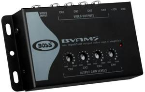 Amplificador De Video Splitter Rca Boss Original 4x1 Hd