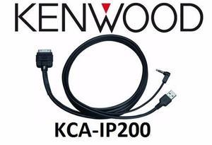 Cable Kenwood Kca-ip200 Para Conexión De Ipod Audio Y Video