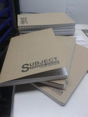 Libretas Cuadernos De 100 Hojas 200 Páginas