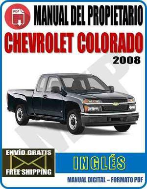 Manual Del Propietario Chevrolet Colorado  Myp