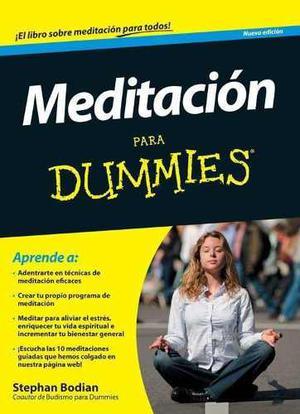 Meditacion Dummies Reducir El Estres Mejorar Tu Salud Ebook