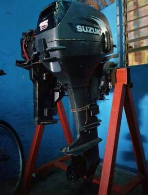 Motor Suzuki 15hp Fuera De Borda, Mas Una Maquina