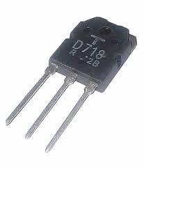 Transistor K D718 Potencia