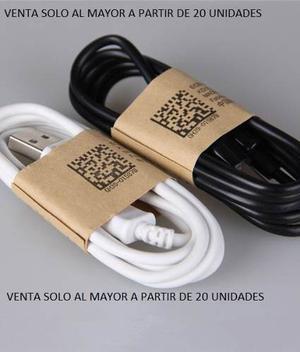 Cable Usb Micro Para Samsung (mayor 20 Piezas)
