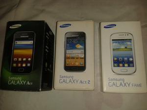 Cajas De Celulares Samsung (varios Modelos) Originales