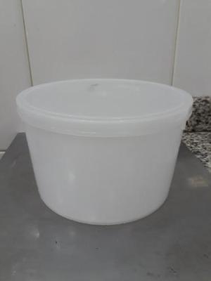Envase Plástico Redondo Y Rectangular De Helado Con Tapa