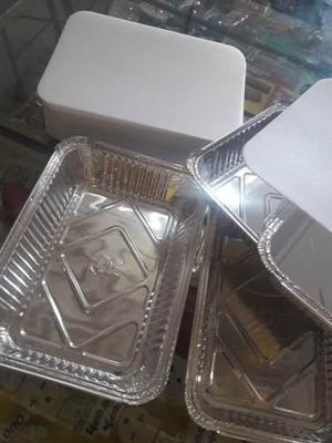 Envases De Aluminio 788 Medidas 22largo 16 Ancho