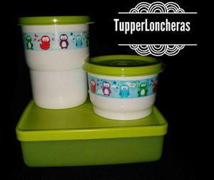 Envases Escolares Tupperware, Tupperloncheras