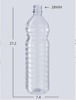 Envases Plasticos De 1 Litro