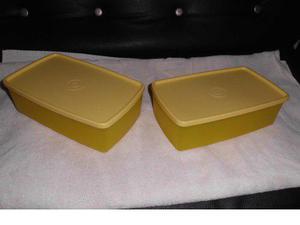 Envases Plasticos Rectangulares (Marca: Tupperware) Nuevos