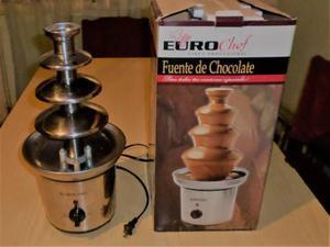 Fuente Chocolate Euro Chef 4 Niveles