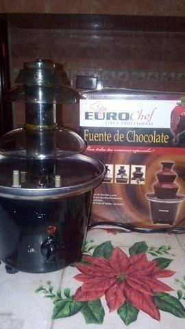 Fuente De Chocolate. Euro Chef