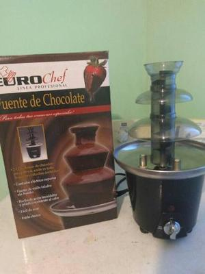 Fuente De Chocolate Euro Chef Ideal Para Cum