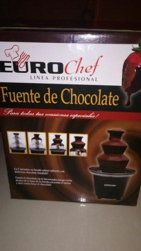 Fuente De Chocolate Euro Chef Linea Profecional De 3 Piso
