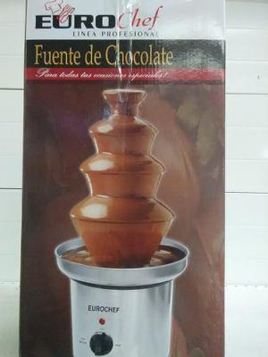 Fuente De Chocolate Euro Chef Totalmente Nueva