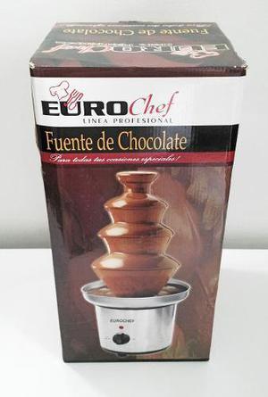 Fuente De Chocolate Eurochef 4 Niveles Nueva