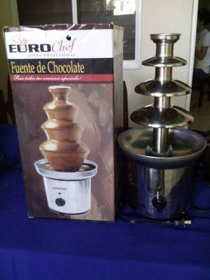 Fuente De Chocolate Eurochef 4 Niveles Poco Uso