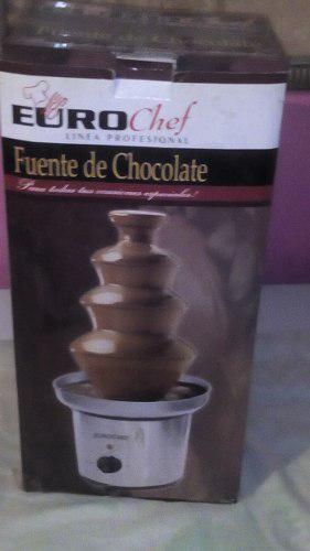 Fuente De Chocolate Eurochef, 4niveles Nueva
