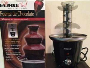 Fuente De Chocolate Eurochef Como Nueva 3 Niveles