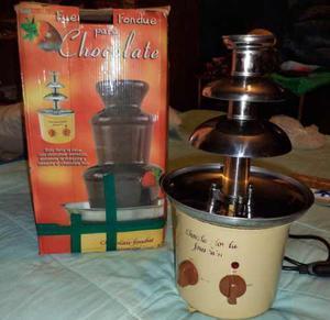 Fuente De Chocolate. Fondue