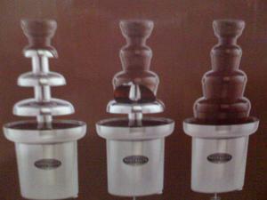 Fuente De Chocolate Industrial Nostalgia 3 Niveles (cambio)