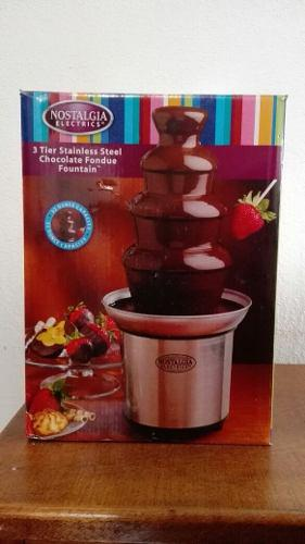 Fuente De Chocolate Marca Nostalgia