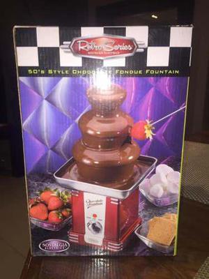 Fuente De Chocolate Nostalgia