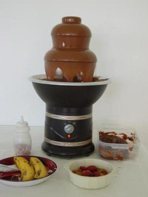 Fuente De Chocolate Rival Usada Una Sola Vez