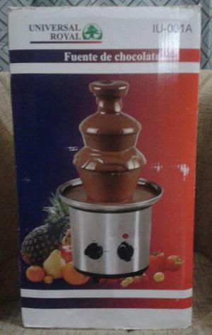 Fuente De Chocolate Universal Royal De Tres Pisos