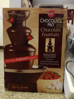 Fuente De Chocolate Wilton