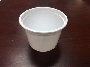 Lote Envases De Plastico Blanco Tipo Tina Capacidad 400 Ml
