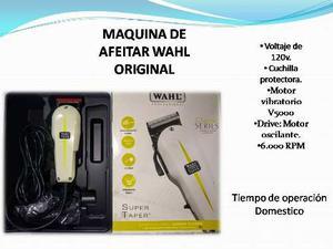Maquina De Cortar Cabello Wahl Original