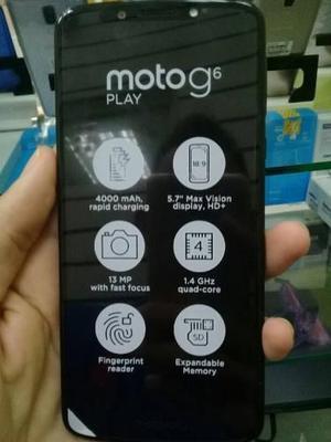 Moto G6 Play Totalmente Nuevo Somos Tienda Fisica