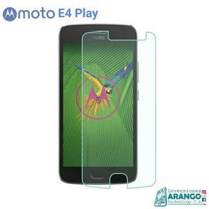 Protector Vidrio Templado 33mm Moto E4 Play Tienda Chacao