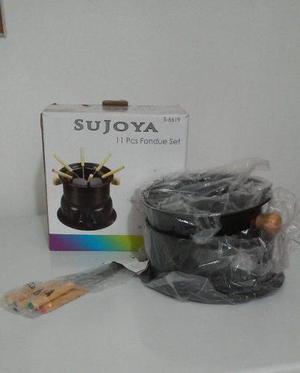Set De Fondue 11 Piezas Sujoya
