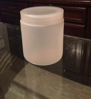 Tarro Plastico 500ml Gramos