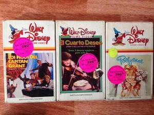 3 Películas De Disney 100% Originales Formato Betamax Beta