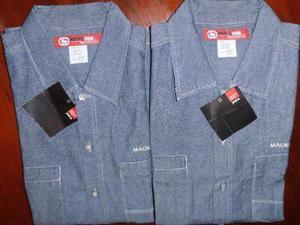 Camisa De Blue Jeans De Caballero