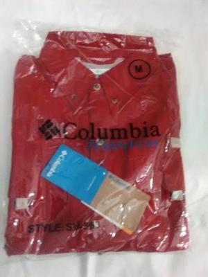 Camisas De Caballero Columbia (nuevas)