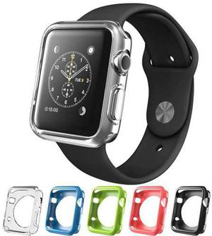 Estuche Color Negro Para Apple Watch Iphone 42mm
