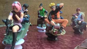 Naruto, Seis Extraordinarias Figuras De Colección